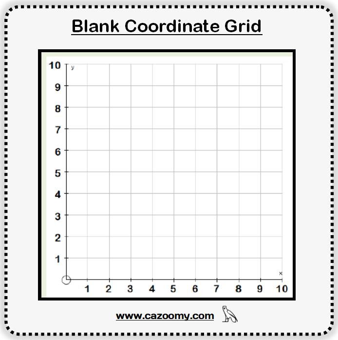 Blank Coordinate Grid 1
