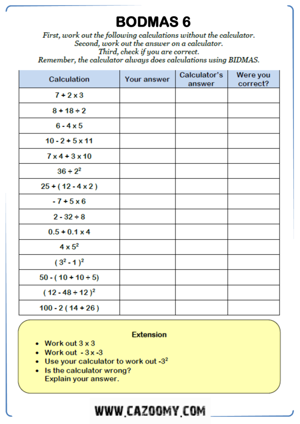 Free Math Worksheet Algebra 2