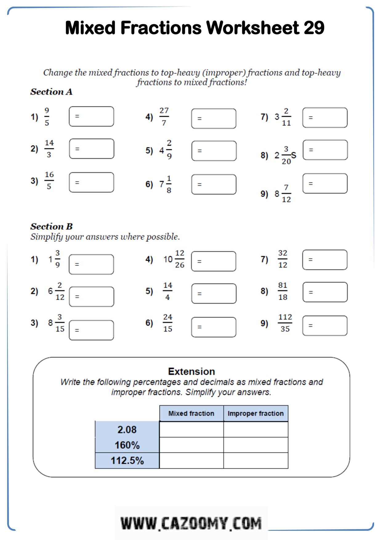 Free Math Worksheet Number 16