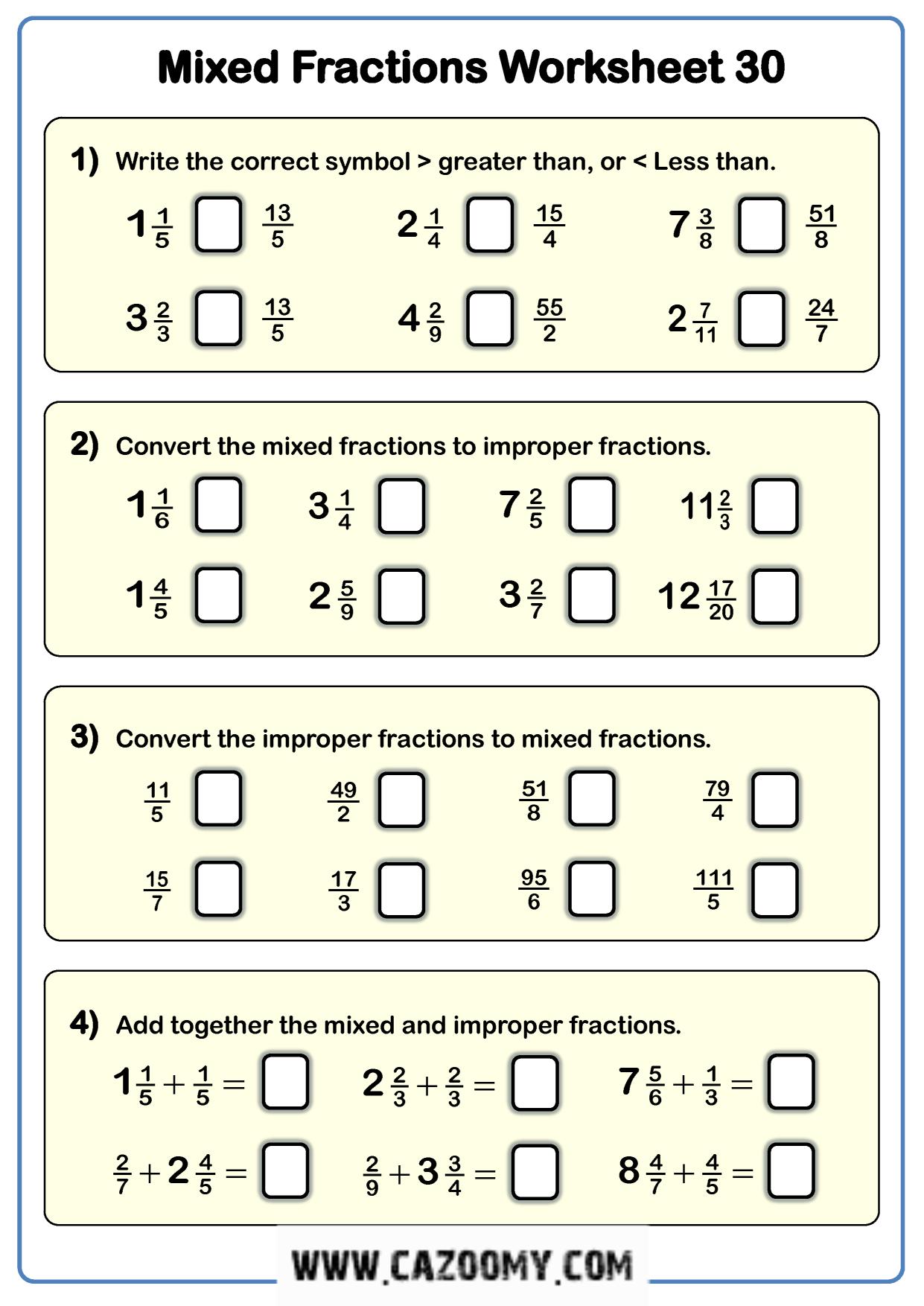 Free Math Worksheet Number 17