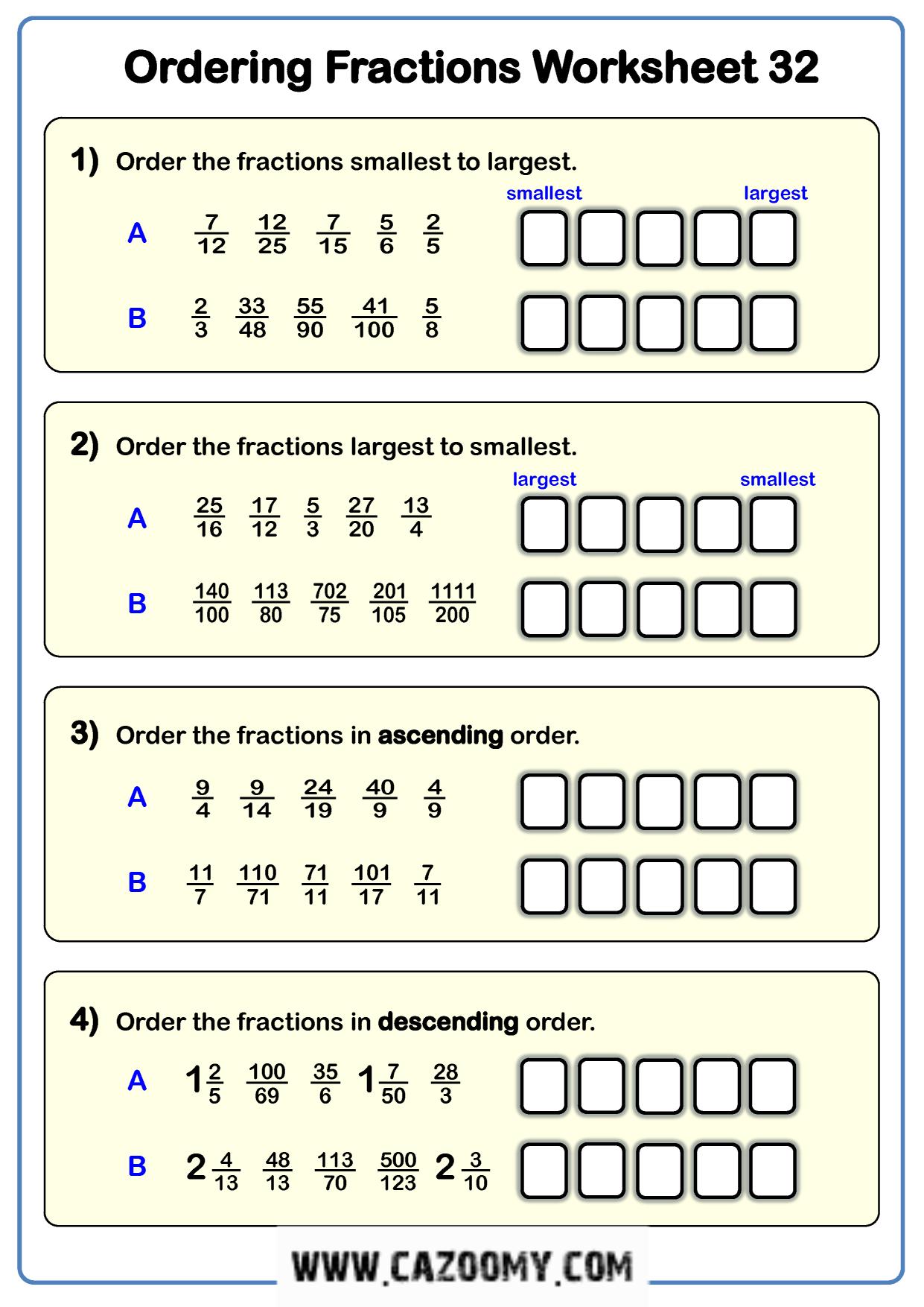 Free Math Worksheet Number 19