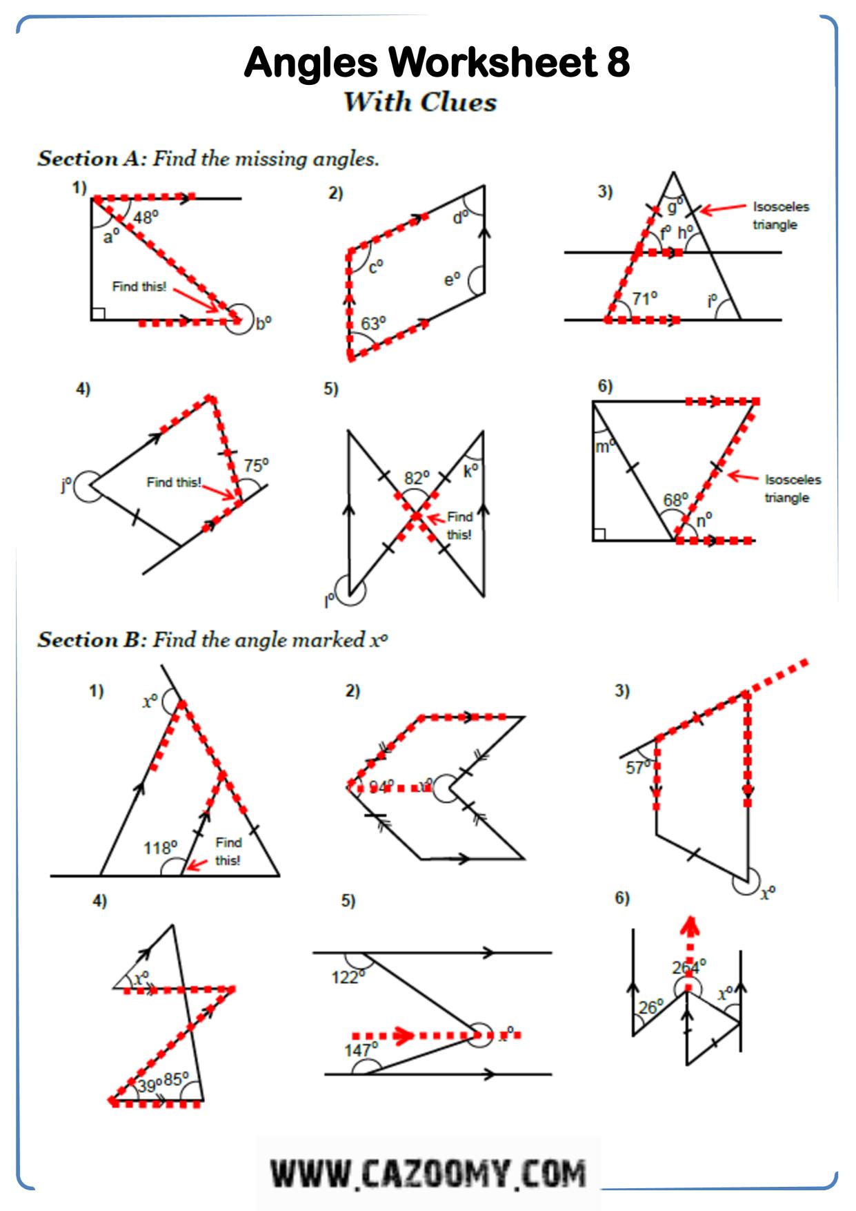 Free Math Worksheet Shape 6
