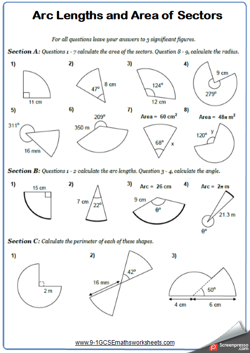 Free Math Worksheet and AnswersWorksheet