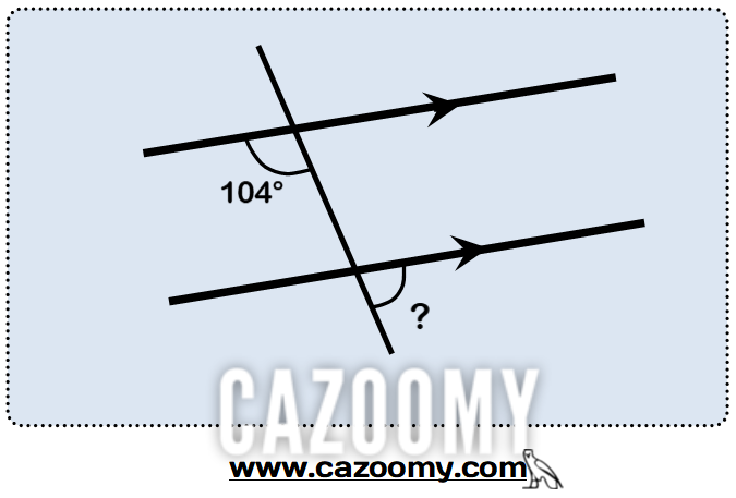 alternate angles question 2