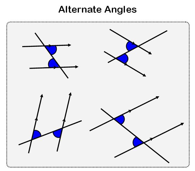 alternate angles worksheet