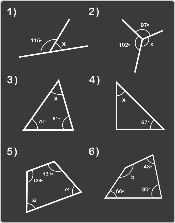 angles questions