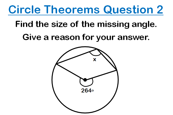 Circle Theorems Questions 2
