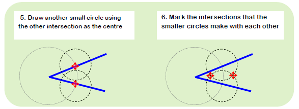 Constructing Angle Bisector 2