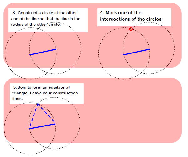 Constructing an Equilateral Triangle 1