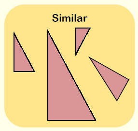Similar Shapes 1