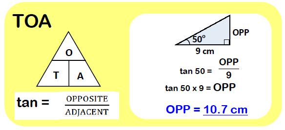 Trigonometry SOHCAHTOA 3