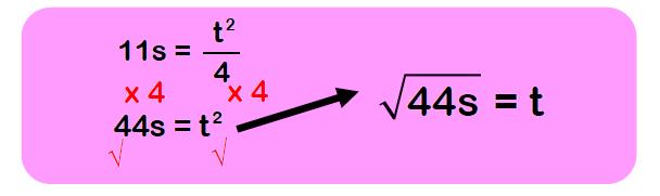 rearranging formulae examples 5
