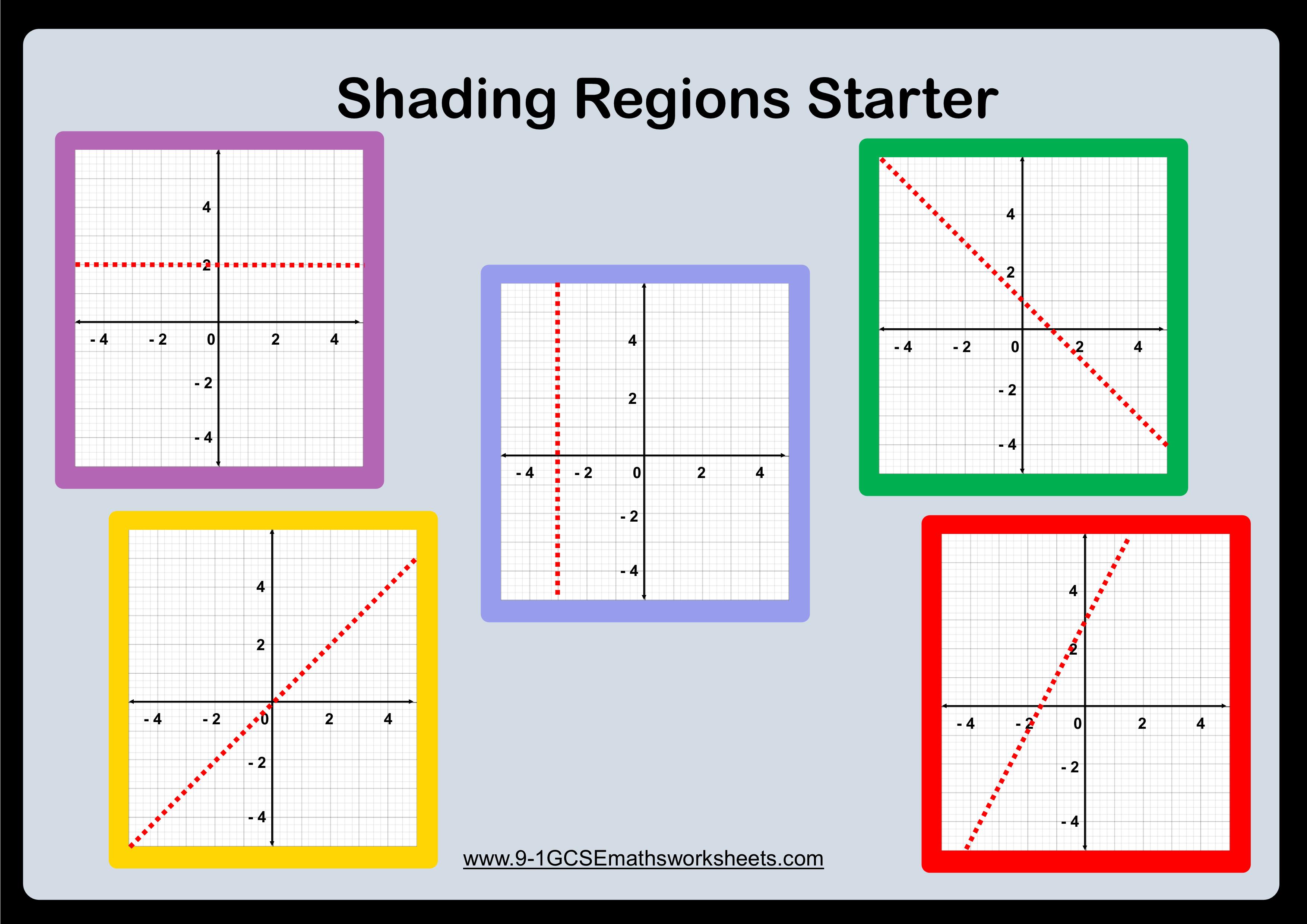 shading regions starter