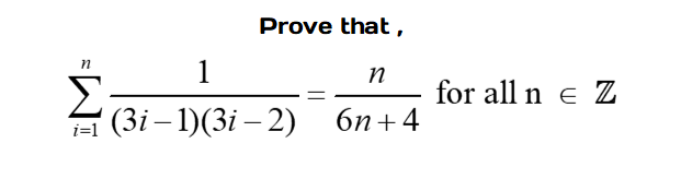Algebraic Proof 5