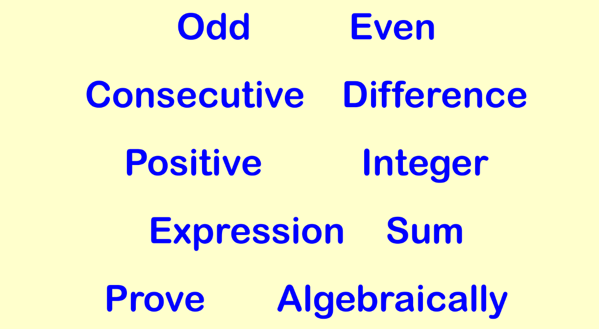 Algebraic Proof Worksheet Example 2