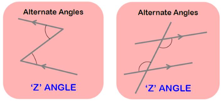 angle worksheet 1 z angles