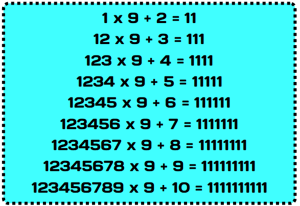 types of number 3