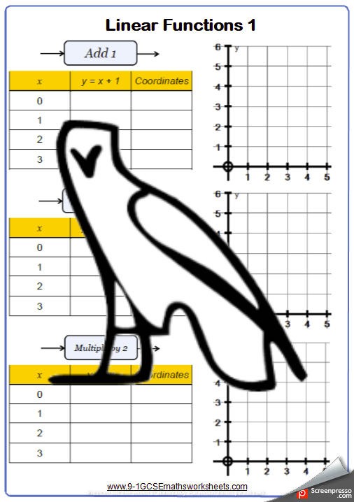 Graphs Worksheet 1