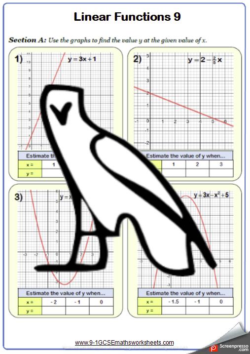 Graphs Worksheet 10