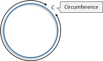 circumference maths worksheet