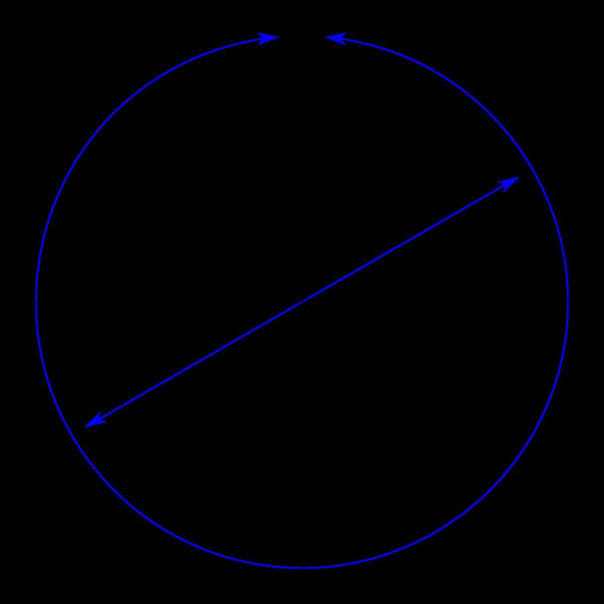 diameter maths worksheet