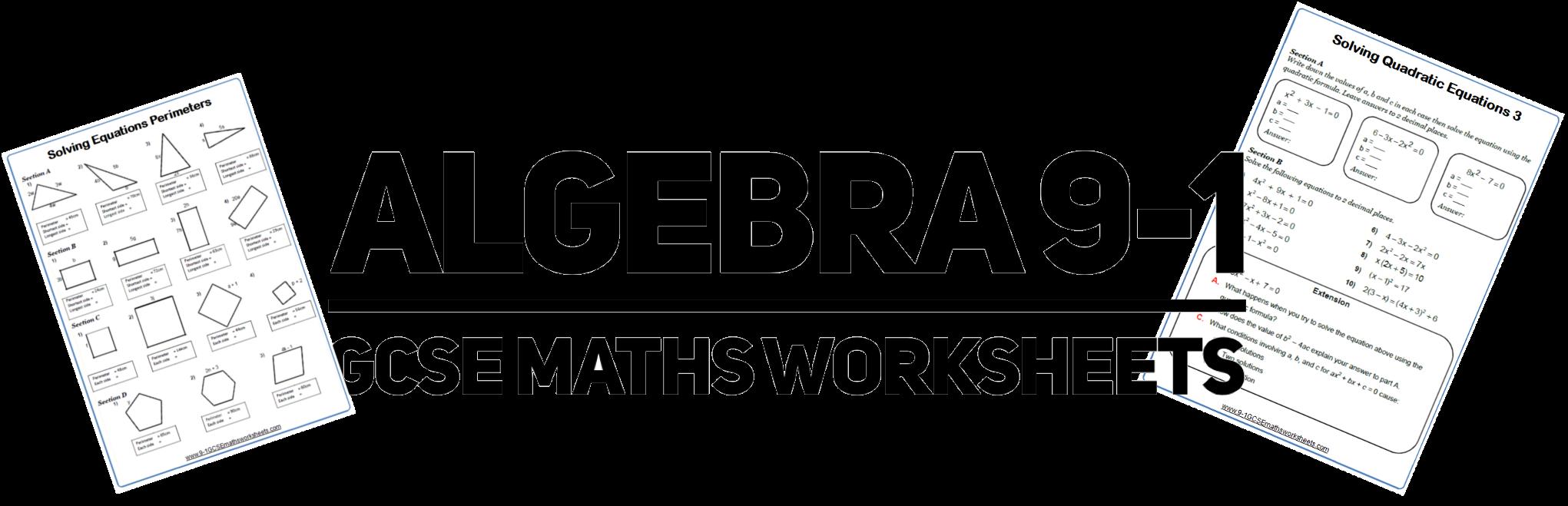 factorising quadratics worksheets