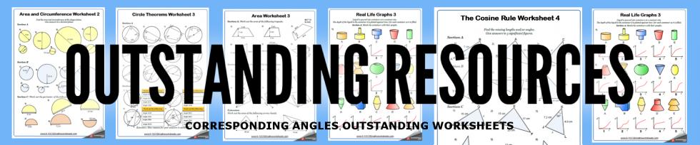 corresponding angles worksheets