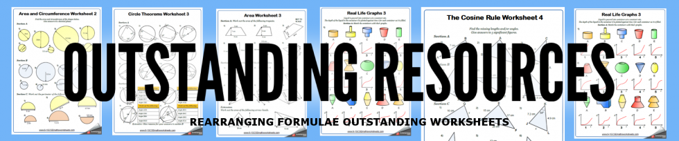 rearranging formulae worksheets