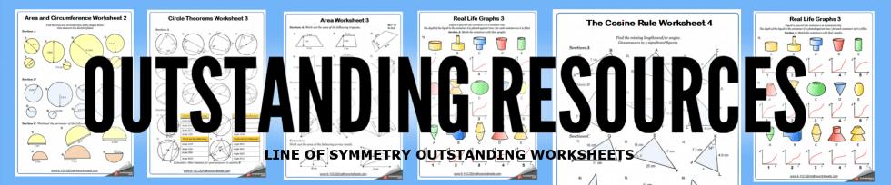 line of symmetry worksheets