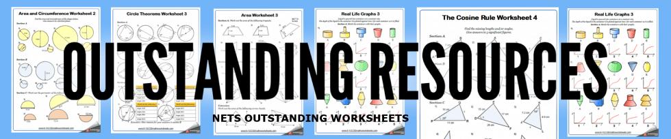 nets worksheets