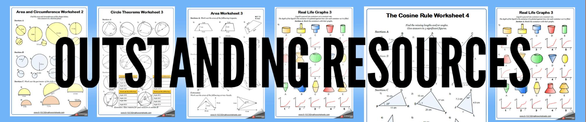 Polygons Maths Worksheets