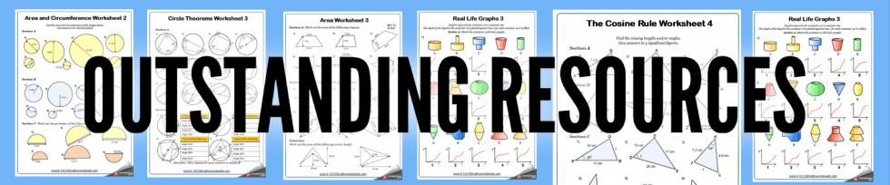 Straight Line Graphs Worksheets