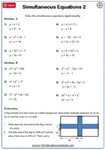 Algebra-Worksheet