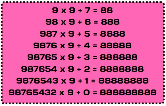 369 Tesla Code Nines Times Table